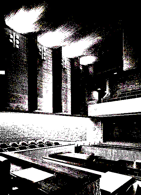 interior courtroom